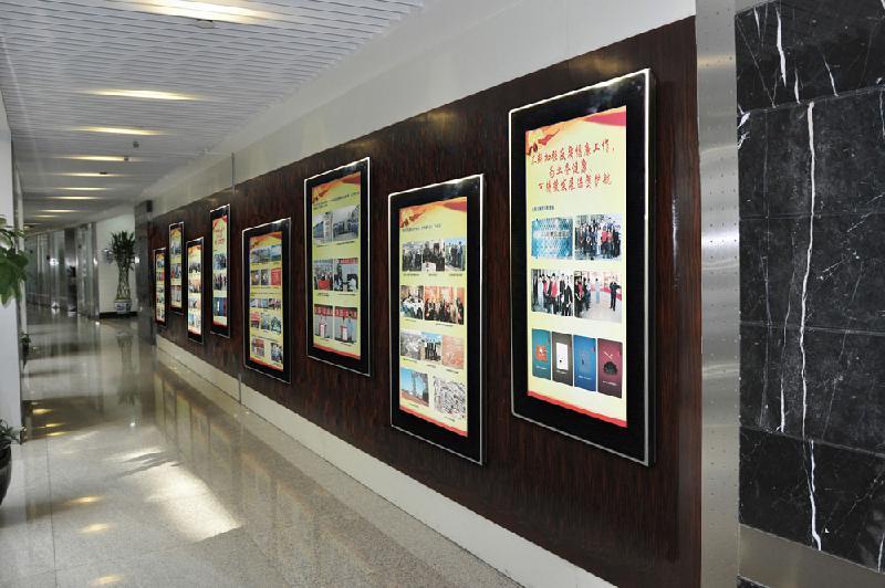 49寸壁挂楼宇广告机(图文)