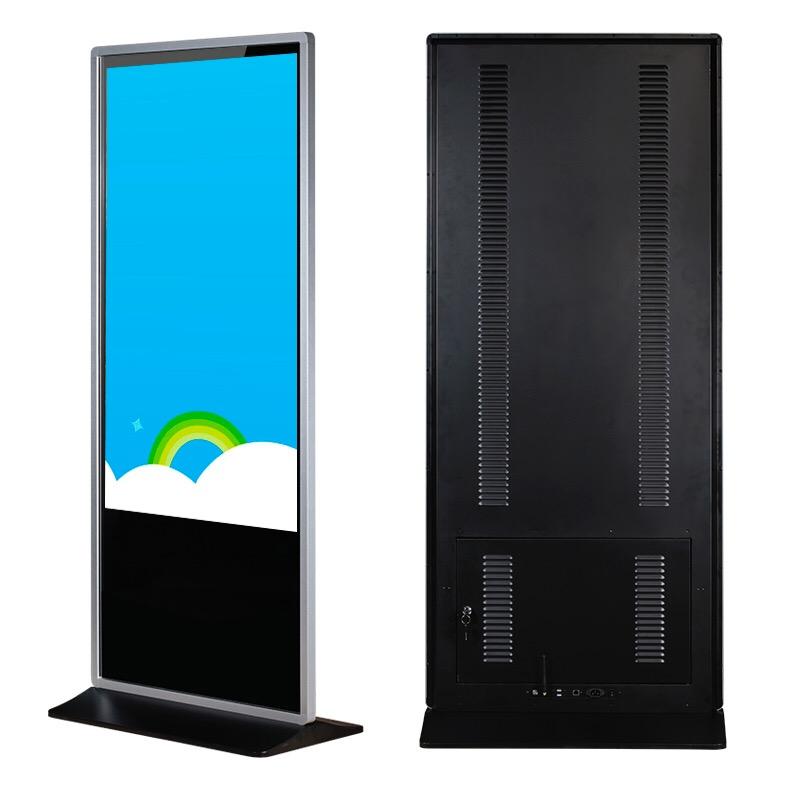 55寸落地立式网络广告机(图文)